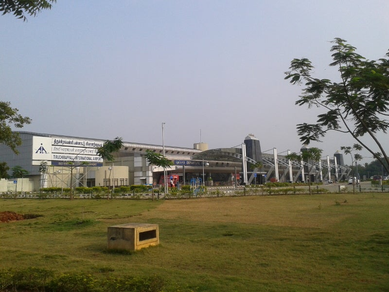 Tiruchirapalli international airport is located in Tiruchirapalli, Tamil Nadu, India. Credit: Deepak.
