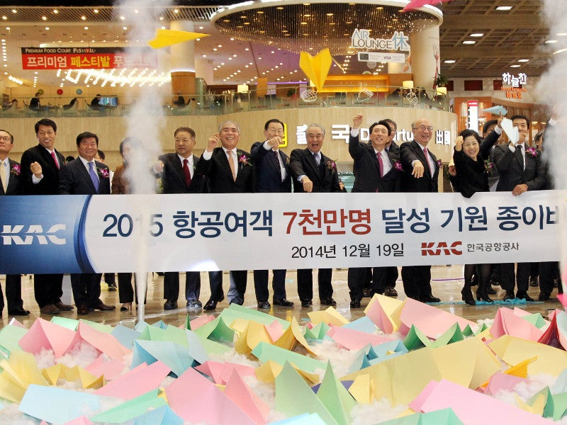 GMP is the third busiest airport in South Korea. Credit: Korea Airports Corporation (KAC).
