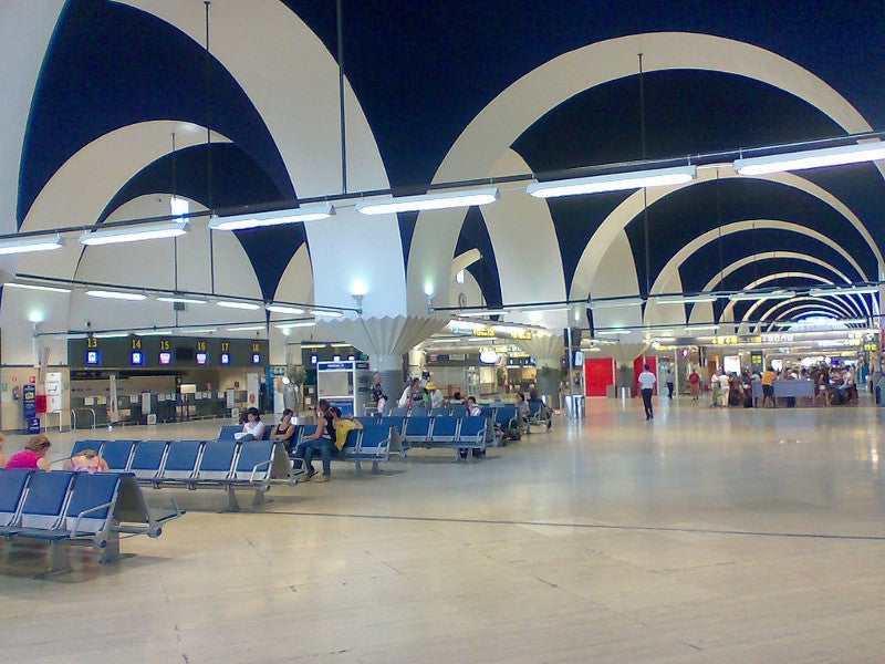 Seville Airport handled 6.38 million passengers in 2018. Credit: Frobles.