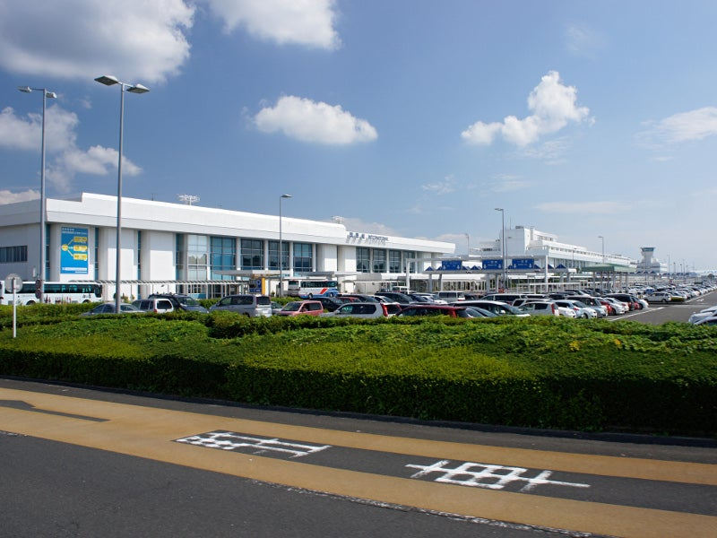 Kagoshima International Airport offers aviation services in the Kirishima region, Japan. Credit: 663highland.