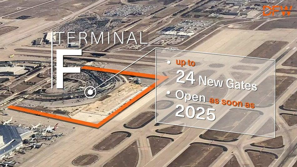 DFW airport sixth terminal