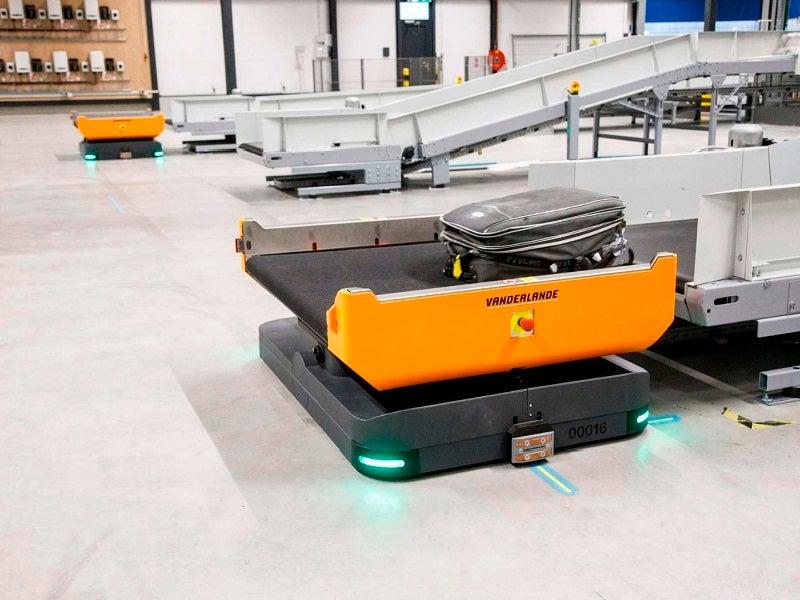 autonomous baggage handling vehicles