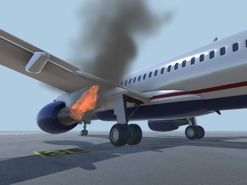 Simpro-emergency-aircraft-fire-simulation-4 - Airport Technology