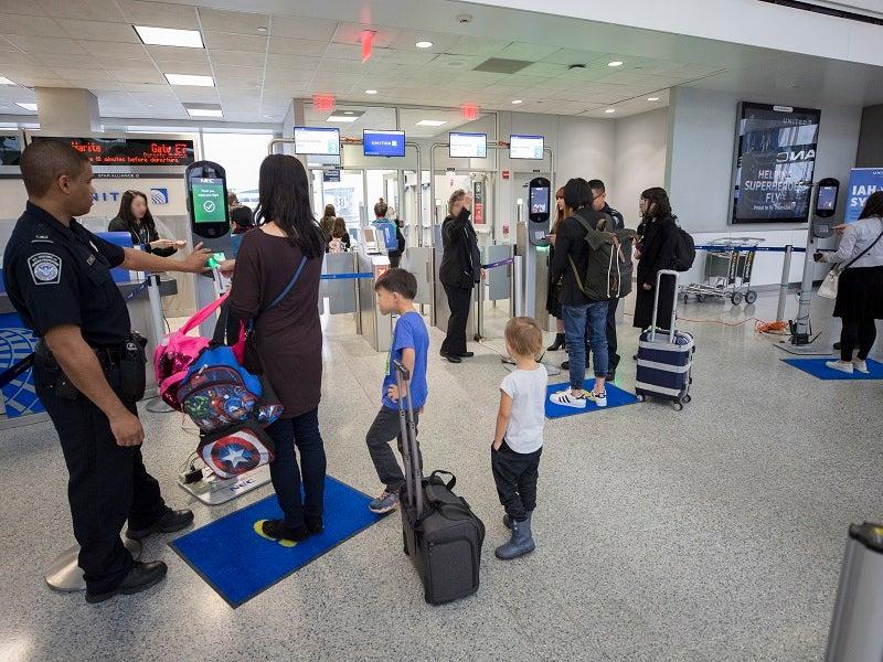 facial recognition at airports