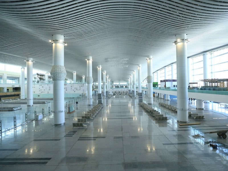 The Salaam Terminal architecture reflects Iranian and Islamic architecture. Credit: Imam Khomeini Airport City.