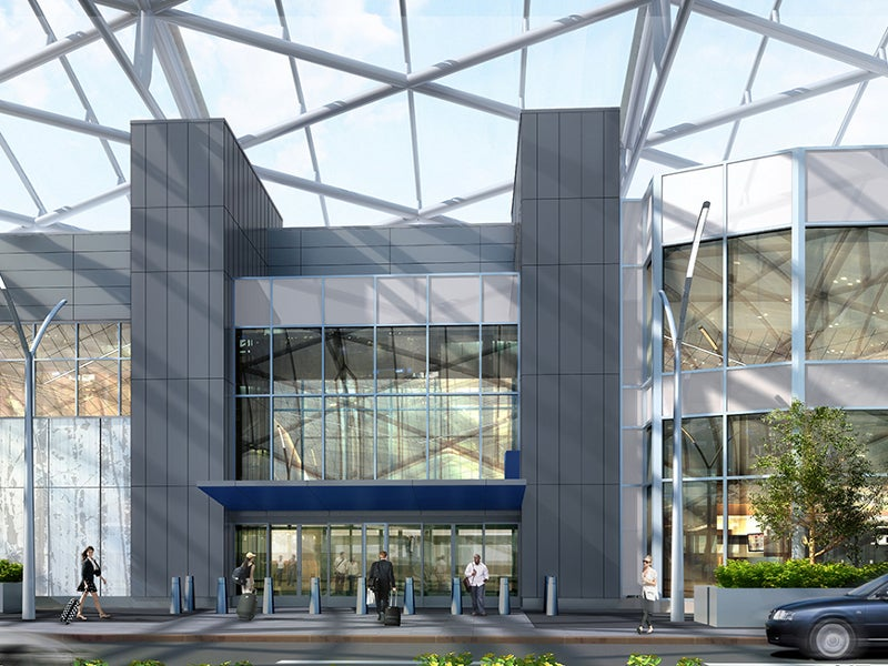 Concourse T will be extended with the addition of five gates. Credit: ATLNext.