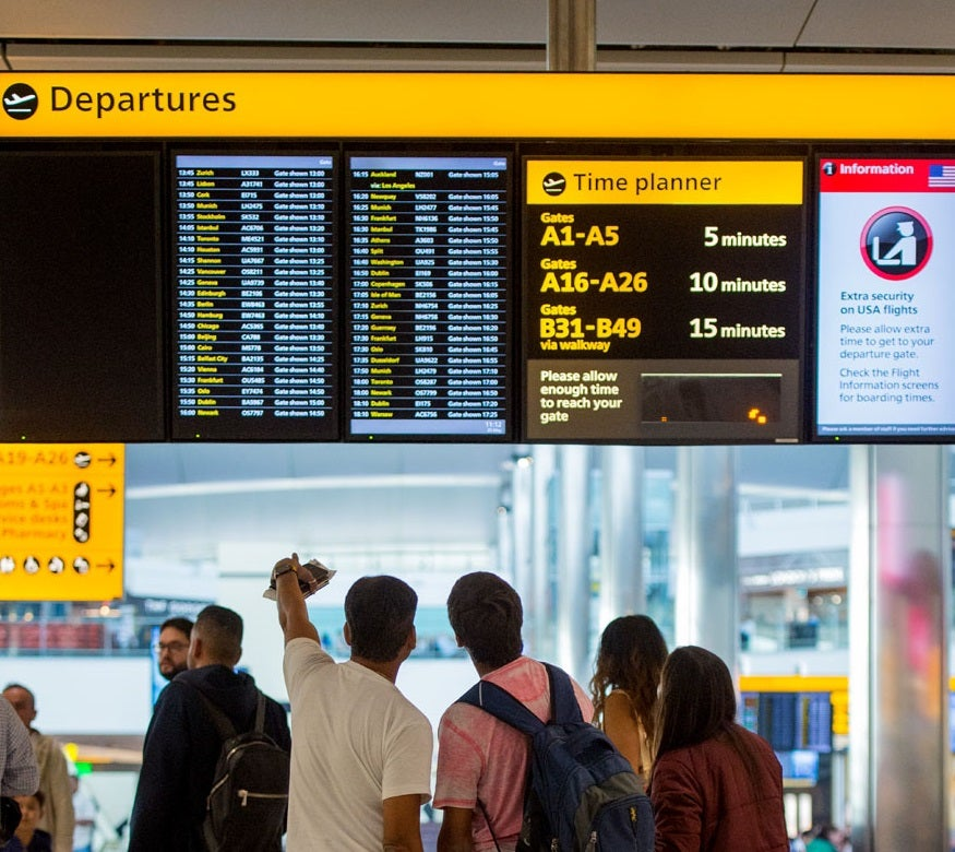 Heathrow flyg plats dating