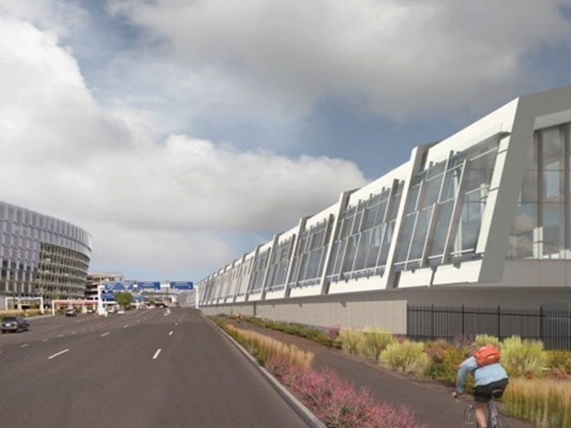 PDXNext programme will increase the annual passenger handling capacity to 34 million. Credit: Skanska.
