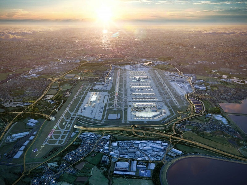 Heathrow expansion masterplan