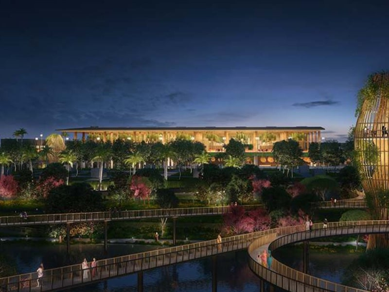 The new garden terminal of the Kempegowda airport will span across 255,000m² space. Credit: SOM.
