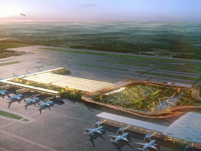 Phase one of the new terminal will become operational in March 2021. Credit: SOM.