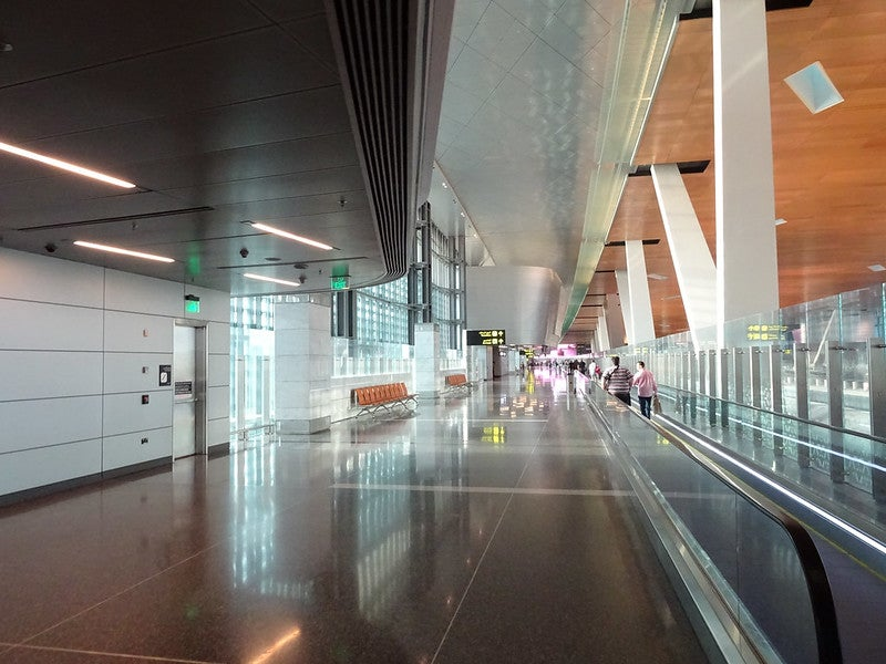 The Hamad International Airport expansion will increase the annual passenger handling capacity of the airport to more than 60 million. Credit: Chris Hoare.