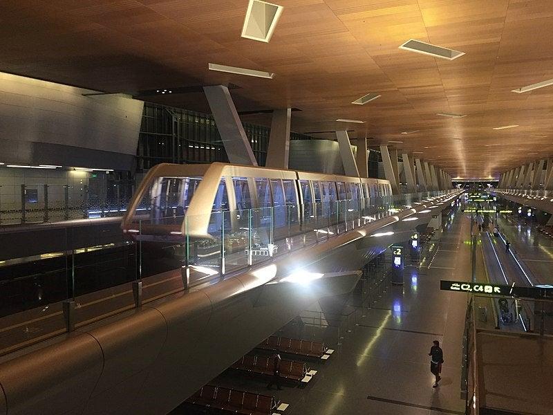 Hamad International Airport.