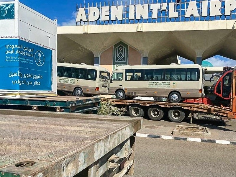 Aden International Airport will become a world-class hub for domestic and international flights, upon the completion of its expansion. Credit: PRNewsfoto / Saudi Development and Reconstruction Program for Yemen.