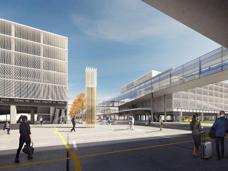 Václav Havel Airport Prague Terminal 2 Expansion