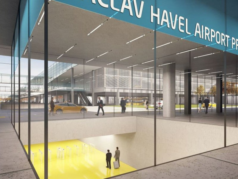 Václav Havel Airport Prague Terminal 2 Expansion