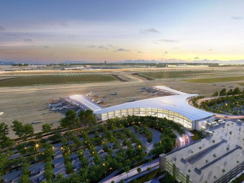 airport terminal opening
