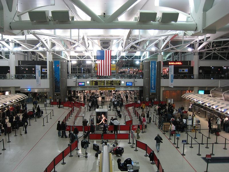 Access to Kennedy, LaGuardia and Newark Liberty airports restricted