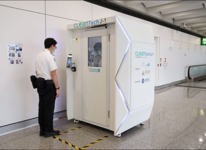 Covid-19: Hong Kong Airport applies advanced disinfection technologies