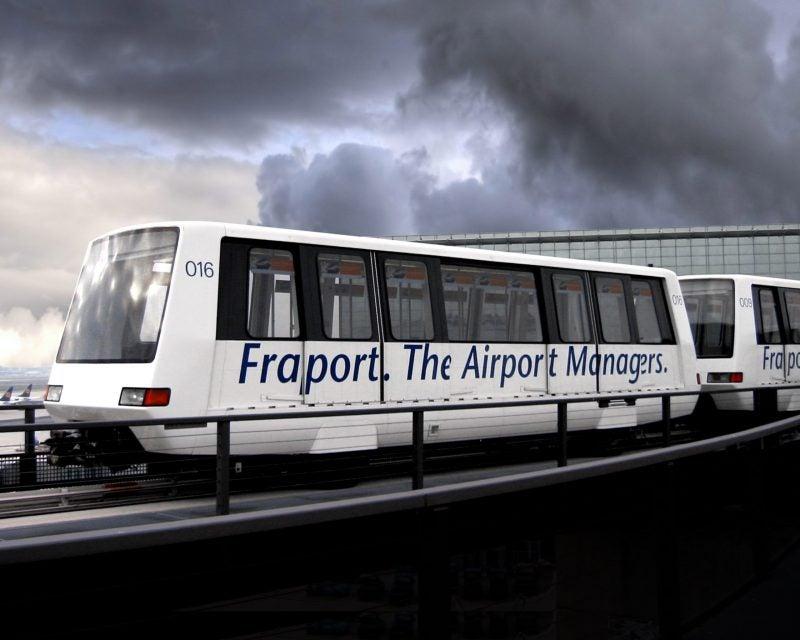 Bombadier Frankurt Airport
