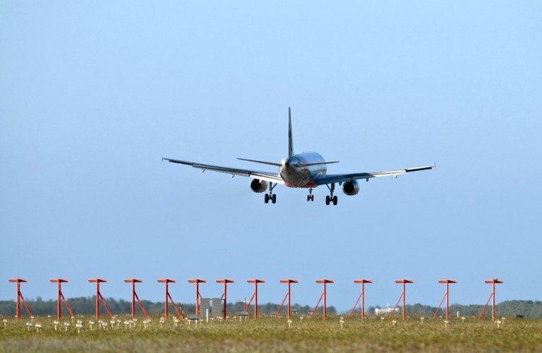 Brisbane Airport flight paths