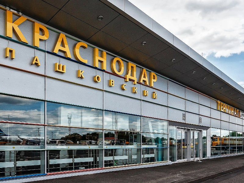 Krasnodar airport's new complex will serve both domestic and international flights. Credit: JSC