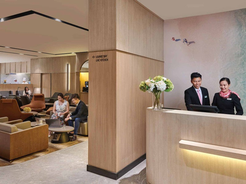 The upgraded Terminal 1 also features a Plaza Premium Lounge. Credit: Plaza Premium Lounge Management Limited.