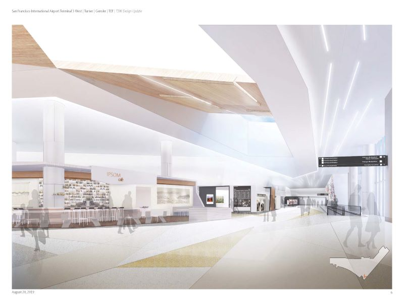 The modernisation project is expected to be completed in the fourth quarter of 2023. Credit: San Francisco International Airport.