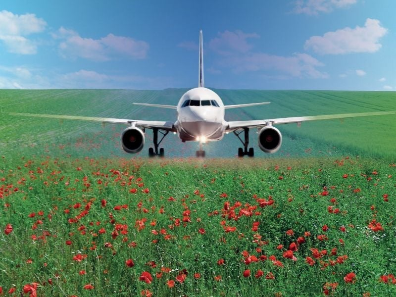 French airports sustainability