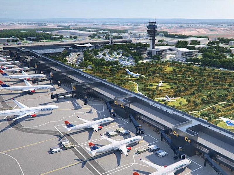 The Belgrade Nikola Tesla airport modernisation project will increase the capacity of the airport. Credit: VINCI Airports.
