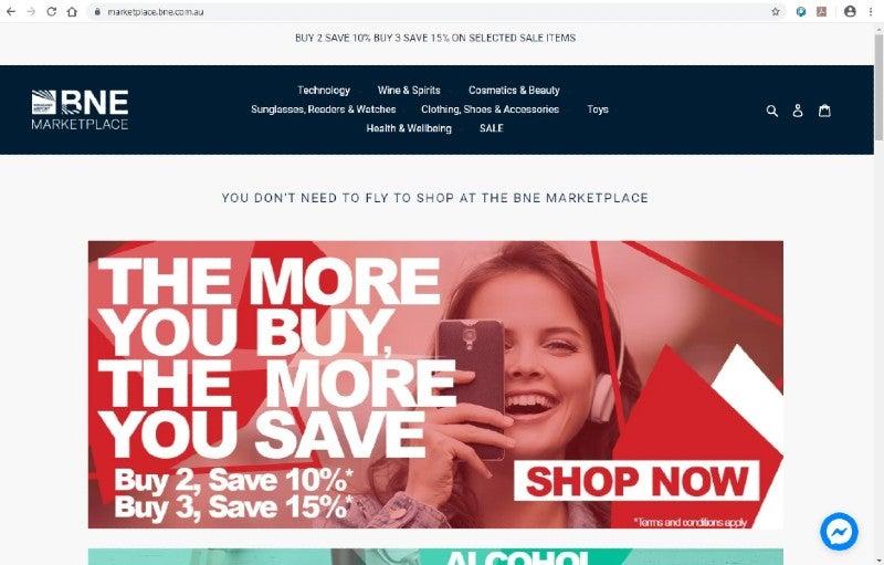 Screen shot BNE Marketplace (1)