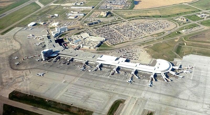 Edmonton Airport solar farm