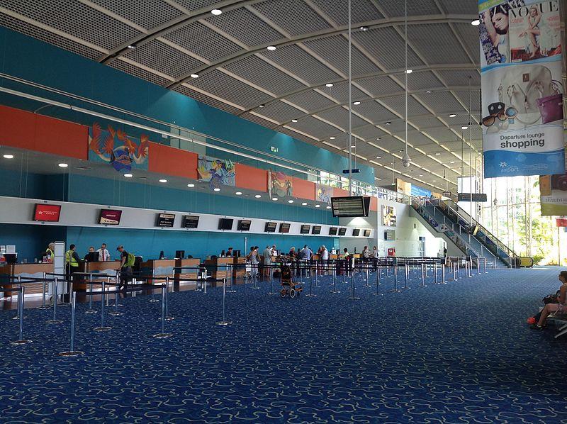 Cairns Airport terminal