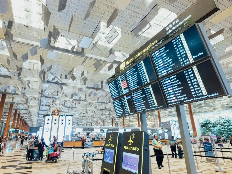 touchless technology airports