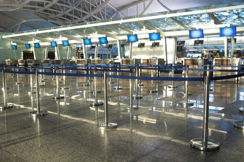 Airports pandemic
