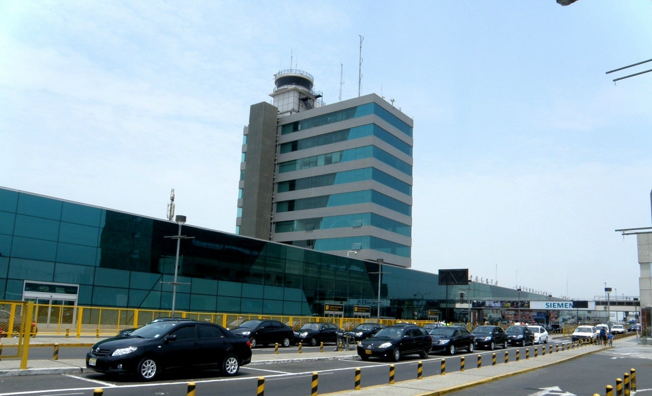Lima airport-14thSept