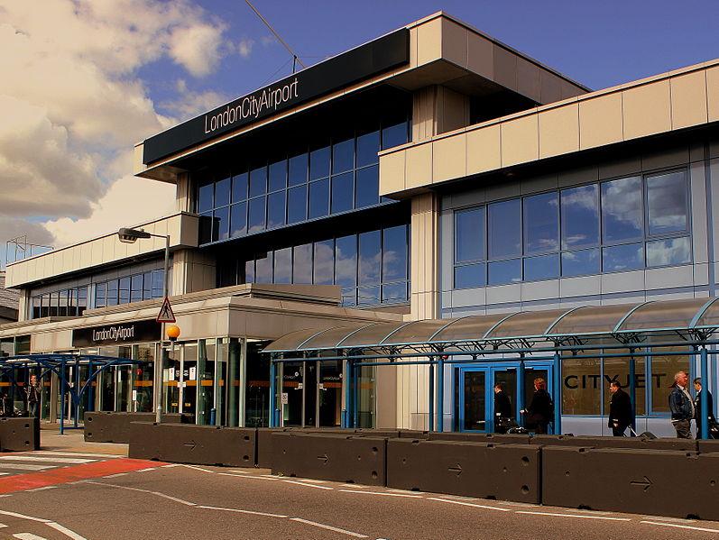 London city airport-8thSept