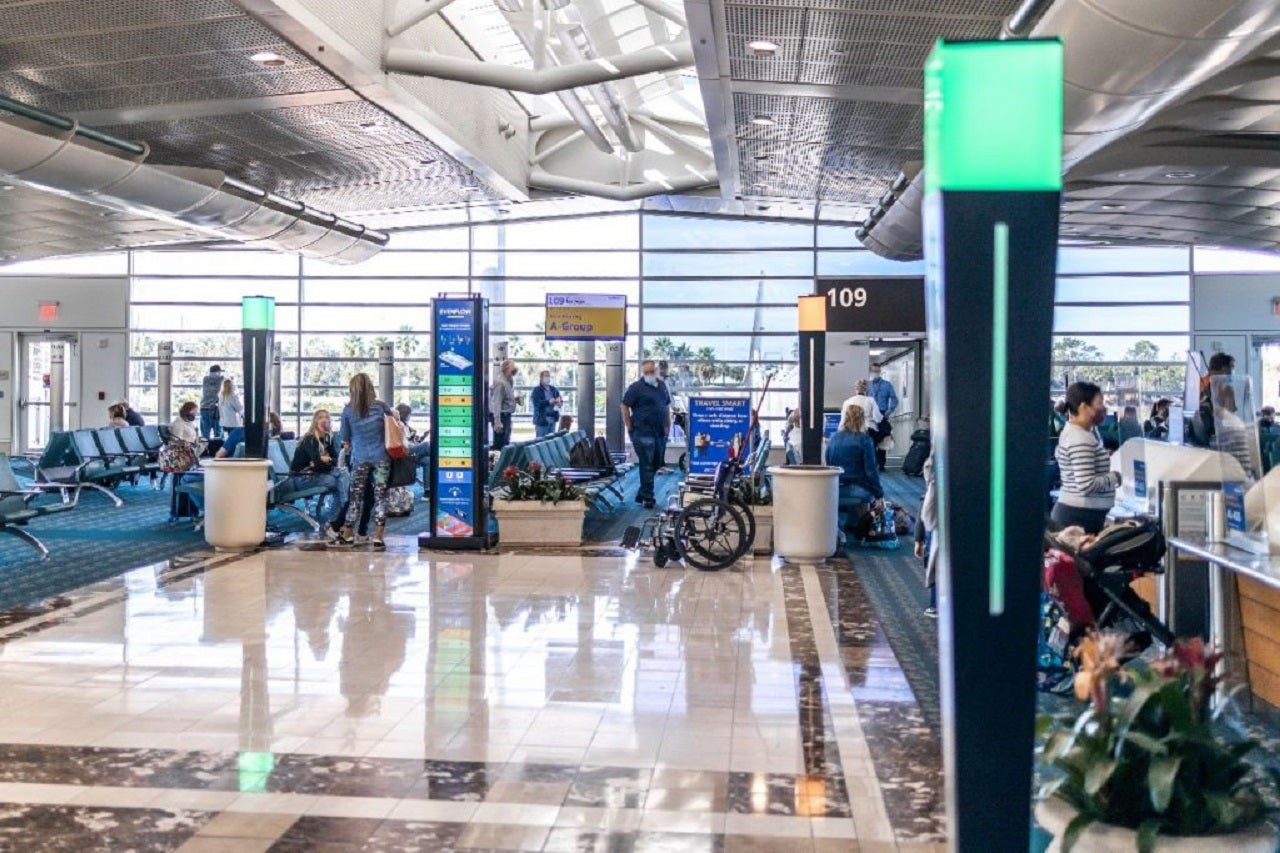 Orlando International Airport tests new system to monitor crowd density