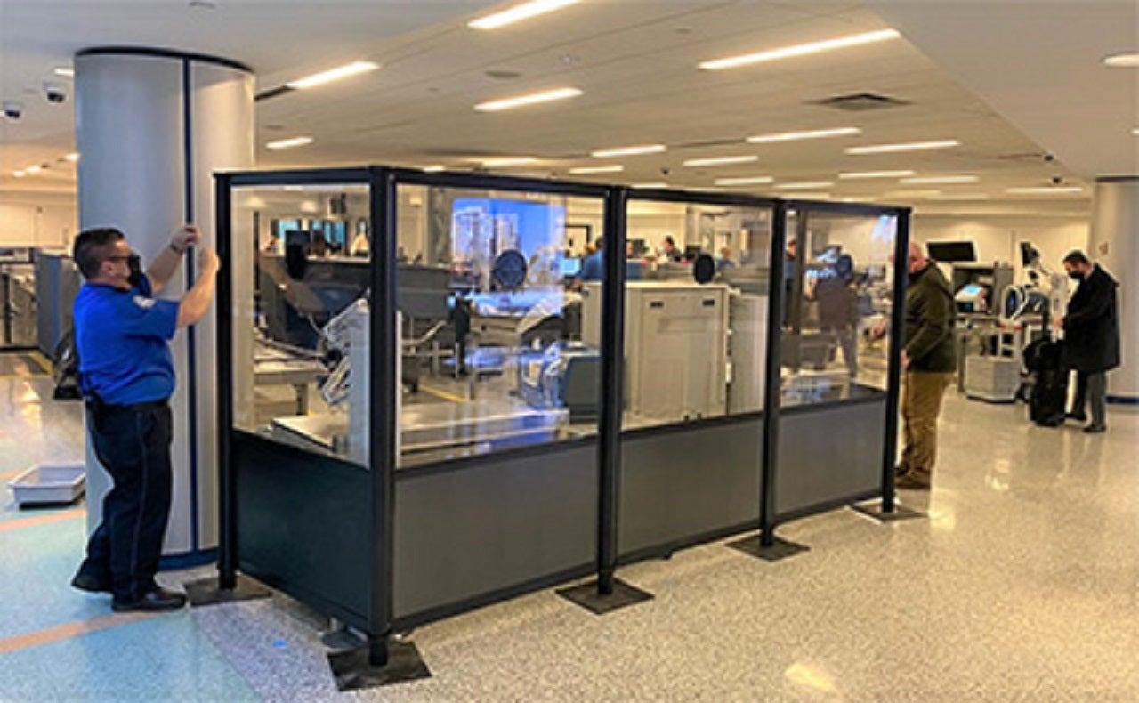 Buffalo Niagara International Airport in US installs new acrylic barriers