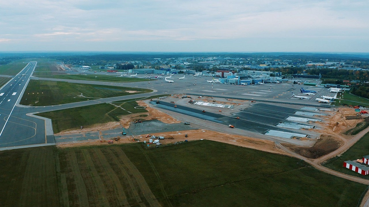 Vilnius Airport in Lithuania completes taxiway renovation