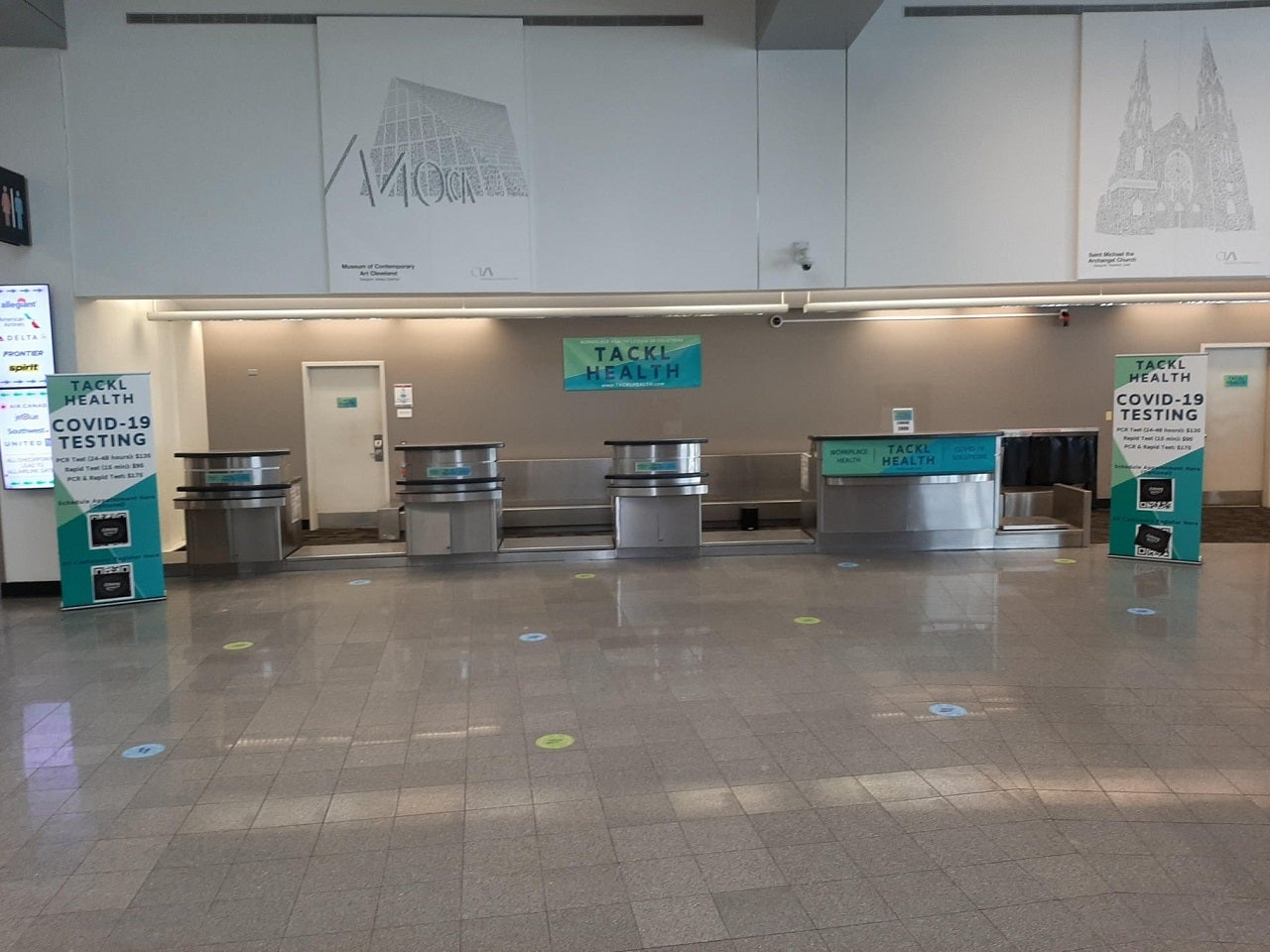 Cleveland Hopkins Airport opens Covid-19 testing site