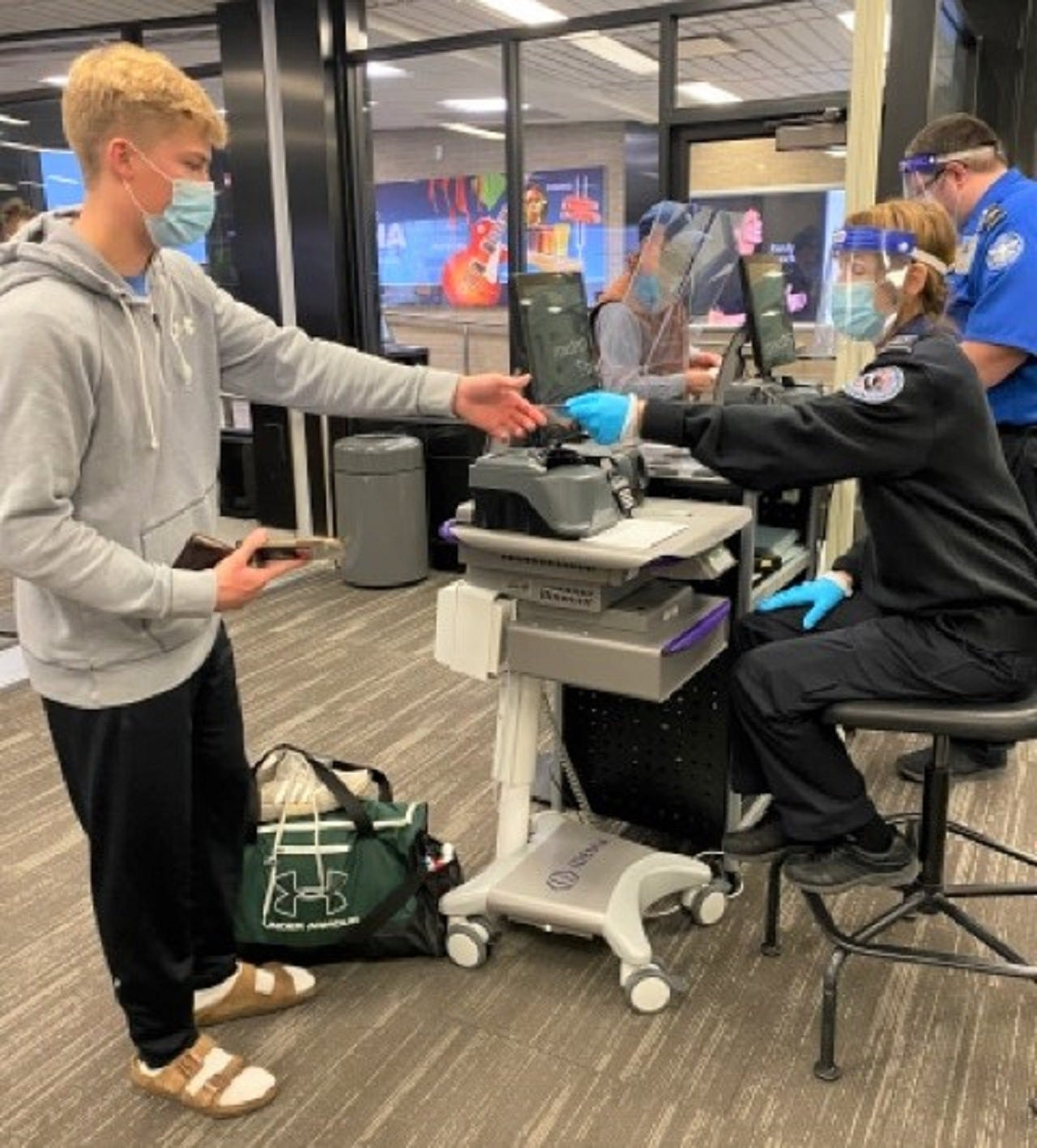 TSA at Eppley Airfield Airport in US deploys CAT unit