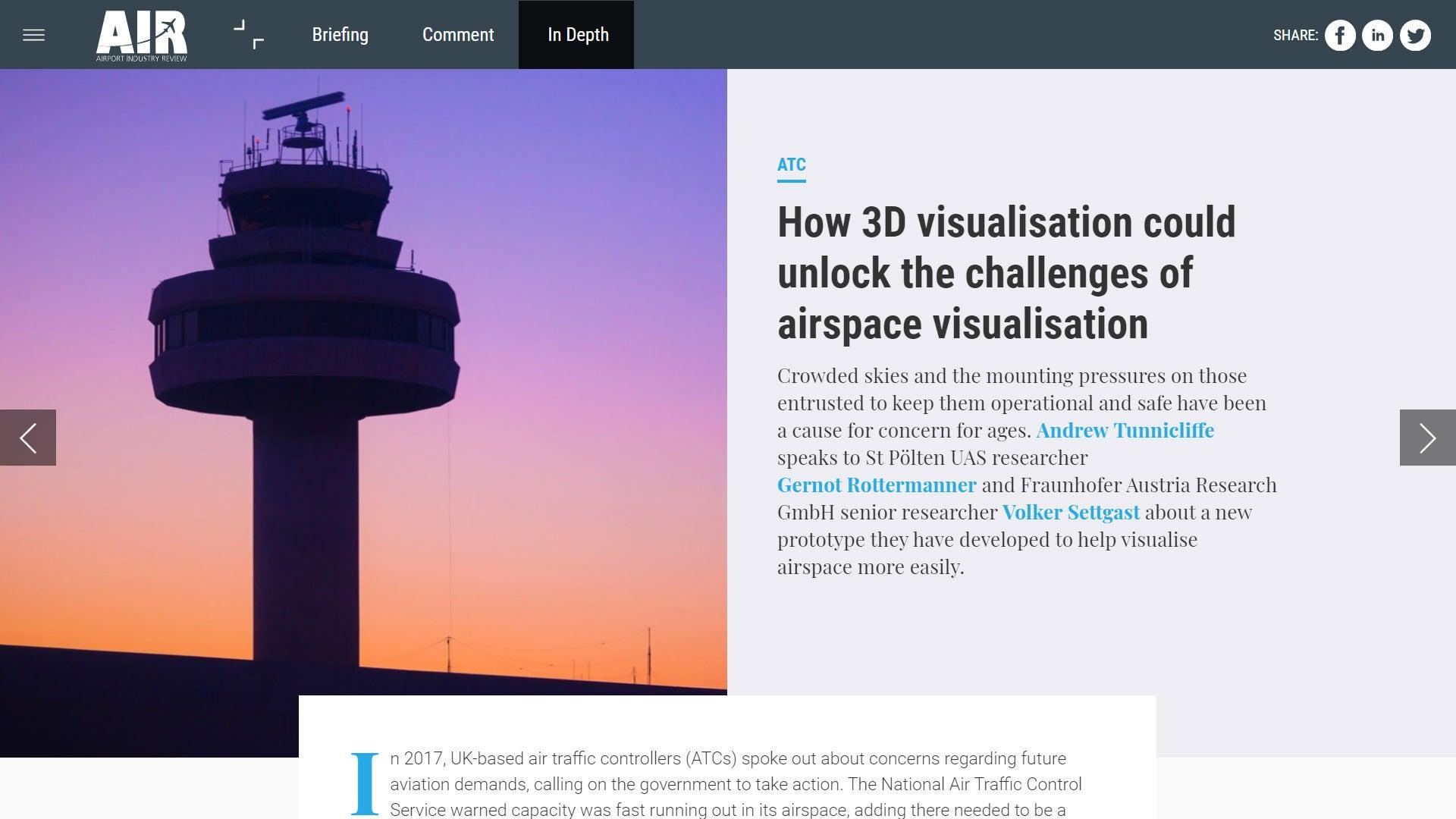 air traffic control technology