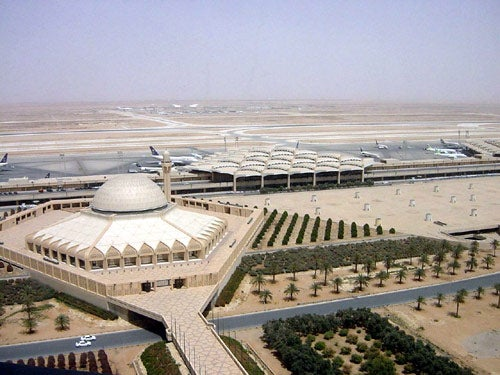 King Khalid international airport