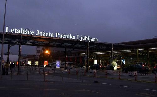 Ljubljana Joze Pucnik Airport, Slovenia