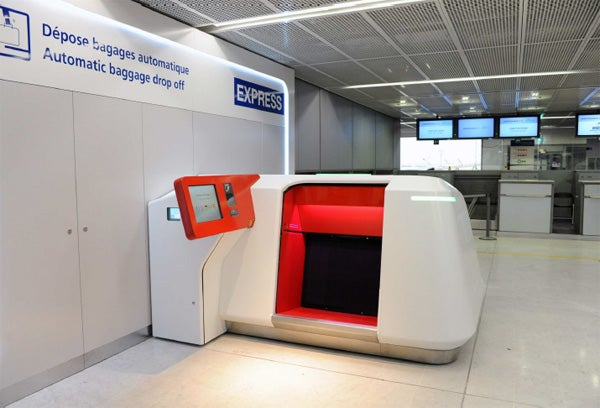 Aeroports de Paris-Baggage drop off