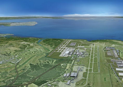 Brisbane airport runway project