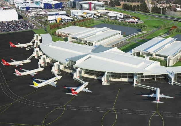 Canberra Airport new terminal