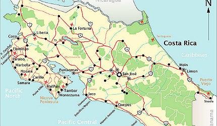 Liberia, north-west Costa Rica