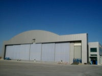 Jewers Doors Completes Doors for Al Futtaim's Executive Jet Hangar at New Al Maktoum International Airport
